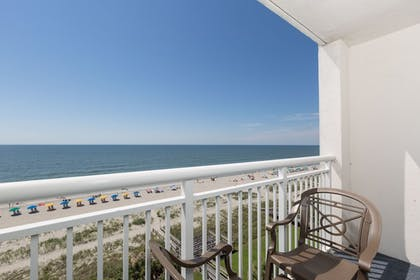Balcony View | Camelot By The Sea by Oceana Resorts