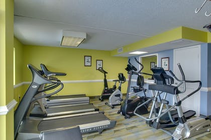 Fitness Facility | Camelot By The Sea by Oceana Resorts
