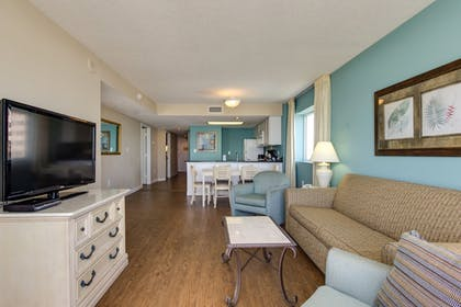 Living Room | Camelot By The Sea by Oceana Resorts