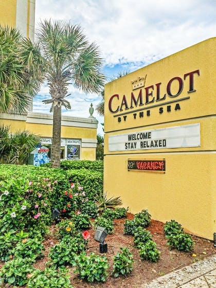 Hotel Front | Camelot By The Sea by Oceana Resorts