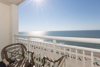Terrace/Patio | Camelot By The Sea by Oceana Resorts