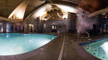 Indoor Pool | Holiday Inn Express Hotel & Suites McCall-The Hunt Lodge