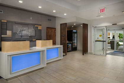 Lobby | Holiday Inn Express Hotel & Suites Independence-Kansas City