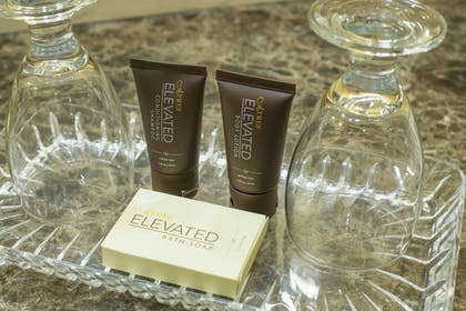 Bathroom Amenities | Ayres Hotel Ontario at the Mills Mall