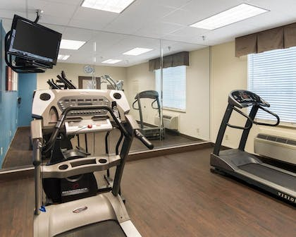 Fitness Facility | Comfort Suites Odessa