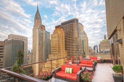 Terrace/Patio | Wyndham Midtown 45 at New York City