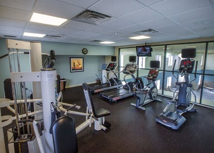 Fitness Facility | Holiday Inn Express Hotel & Suites Buffalo-Airport