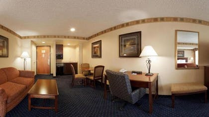 Living Area | Holiday Inn Express Hotel & Suites - Cheyenne