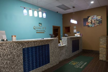 Check-in/Check-out Kiosk | Quality Inn & Suites Bedford West