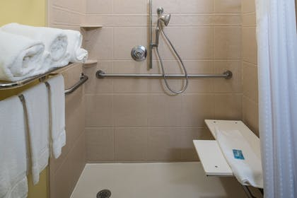 Bathroom Shower | Holiday Inn Express & Suites W. Monroe