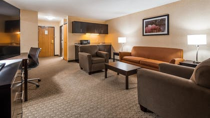 In-Room Kitchenette | Best Western Plus Howe Inn