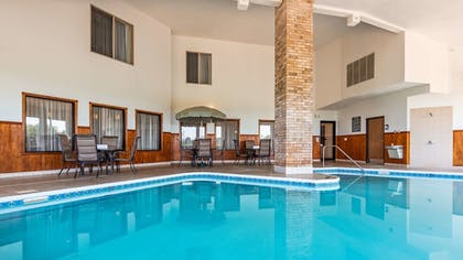 Indoor Pool | Best Western Plus Howe Inn