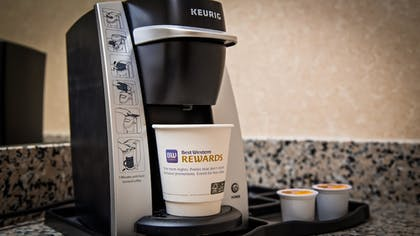 In-Room Coffee | Best Western Plus Howe Inn