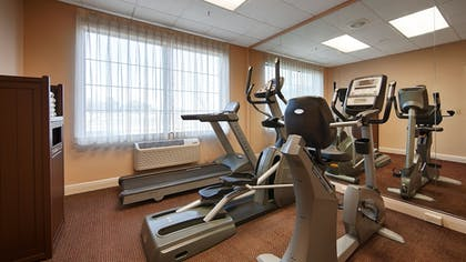 Fitness Facility | Best Western Plus Executive Hotel & Suites
