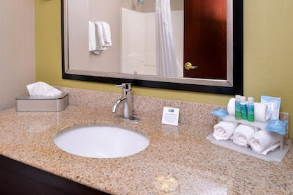 Bathroom | Holiday Inn Express & Suites North Lima
