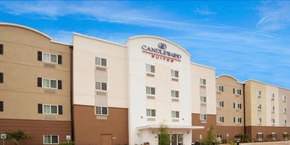 Hotel Front | Candlewood Suites San Angelo TX