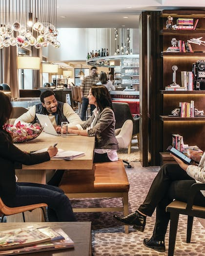 Library | Virgin Hotels Chicago
