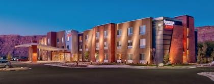 Hotel Front | Fairfield Inn & Suites by Marriott Moab