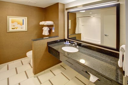 Bathroom | Fairfield Inn & Suites by Marriott Rehoboth Beach