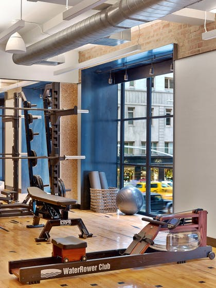 Fitness Facility   1 Hotel Central Park