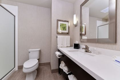 Bathroom | Holiday Inn Express & Suites Houston NW - Tomball Area