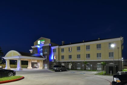 Hotel Front - Evening/Night | Holiday Inn Express & Suites Houston NW - Tomball Area
