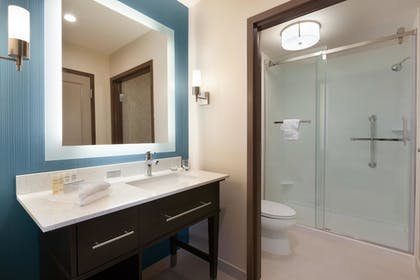 | 1 King Bed Studio Suite | Homewood Suites by Hilton North Houston/Spring