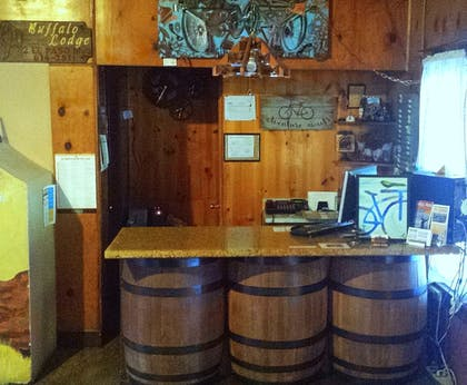 Check-in/Check-out Kiosk | Buffalo Lodge Bicycle Resort