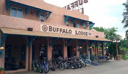 View from Hotel | Buffalo Lodge Bicycle Resort