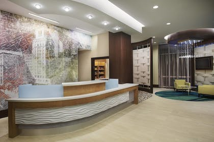 Reception | Springhill Suites by Marriott Houston Dwntn/Convention Cntr