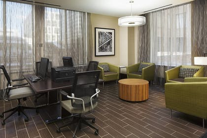 Business Center | Springhill Suites by Marriott Houston Dwntn/Convention Cntr