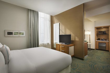 Guestroom | Springhill Suites by Marriott Houston Dwntn/Convention Cntr