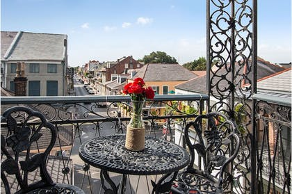 Balcony View | FRENCH QUARTER MANSION BOUTIQUE HOTEL