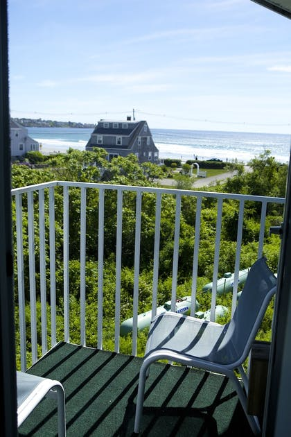 Balcony View | Anchorage Inn and Resort
