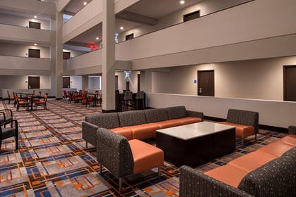 Lobby | Holiday Inn Express & Suites San Antonio Medical-Six Flags