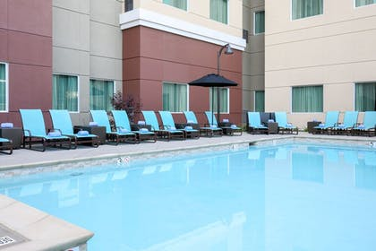 Outdoor Pool | Residence Inn by Marriott San Jose Airport