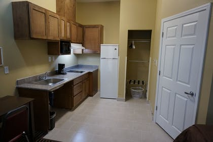In-Room Kitchen   The Bungalows Hotel & Event Center