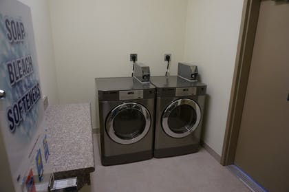 Laundry Room | The Bungalows Hotel & Event Center