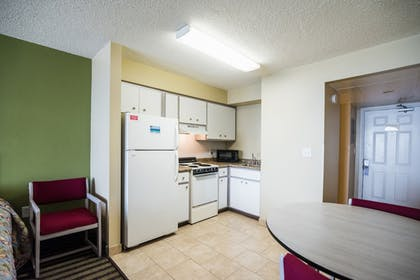 In-Room Kitchenette | Osprey on the Gulf