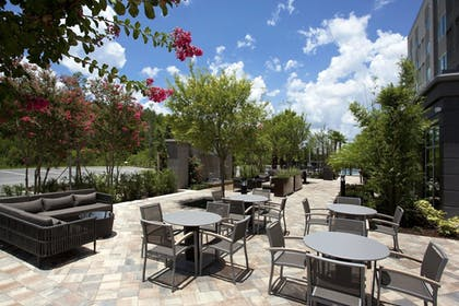 Terrace/Patio | Courtyard Orlando South/Grande Lakes Area