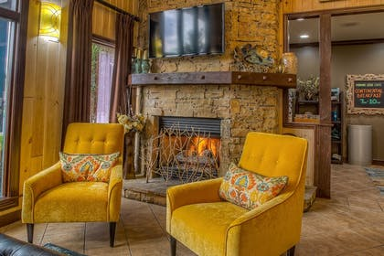 Fireplace      Accommodation By Willow Brook Lodge