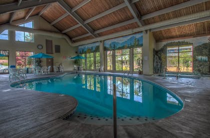 Indoor Pool      Accommodation By Willow Brook Lodge