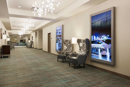 Hallway | SpringHill Suites by Marriott San Jose Airport