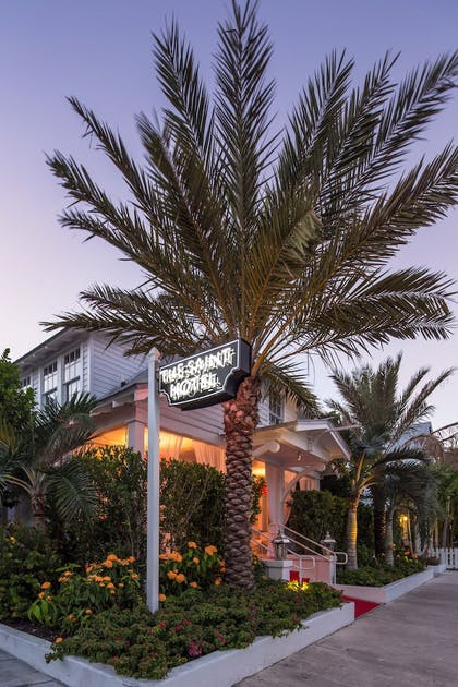 Hotel Front - Evening/Night   The Saint Hotel Key West, Autograph Collection
