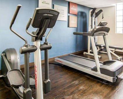 Fitness Facility | Comfort Suites Fredericksburg South