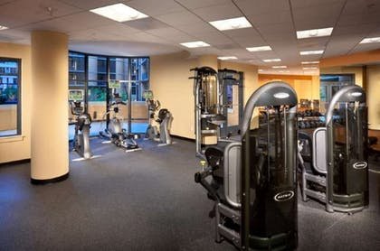 Fitness Facility   Global Luxury Suites at The Convention Center