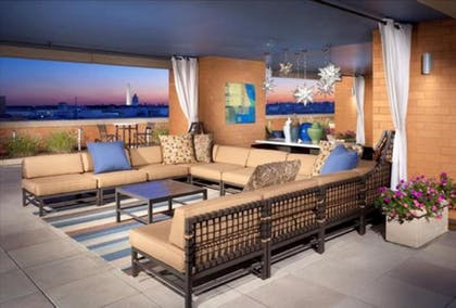 Terrace/Patio   Global Luxury Suites at The Convention Center