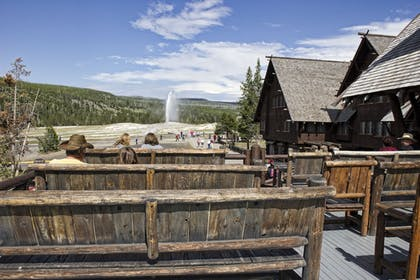 Sundeck | Old Faithful Inn - Inside the Park