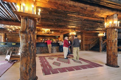 Reception | Old Faithful Inn - Inside the Park