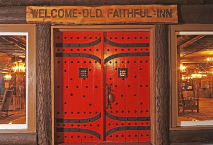 Property Entrance | Old Faithful Inn - Inside the Park